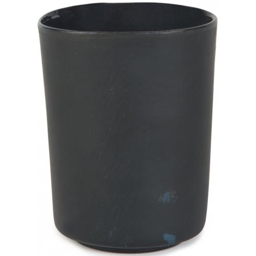 Porselen Bardak - Siyah