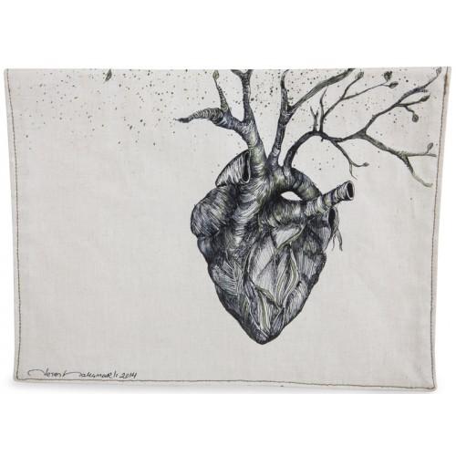 Yürek iPad Kılıfı / Portföy