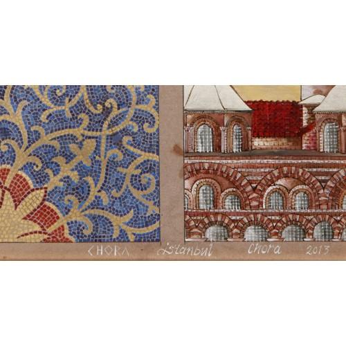 Kariye Müzesi'nden bir Mozaik Minyatür