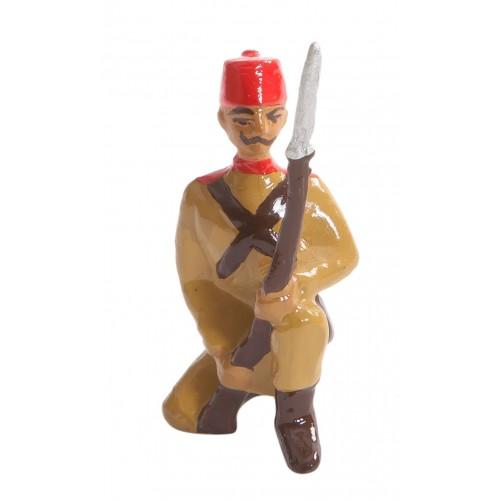 Diz Çökmüş Piyade Kurşun Asker Figürü