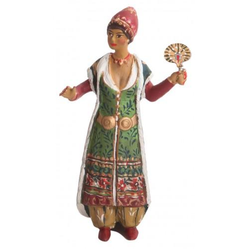 Osmanlı Haremi: Yelpazeli Kadın Figürü