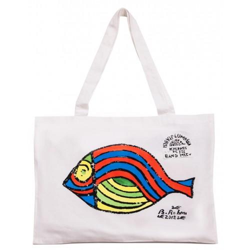 Bedri Rahmi Dil Balığı Bez Çanta