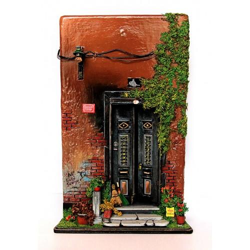 Minyatür Tarihi Osmanlı Kapı - 1