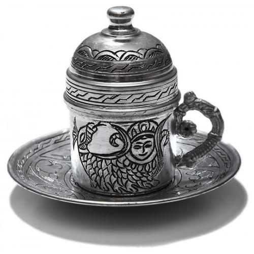 Bakır Kahve Fincan Takımı (2)