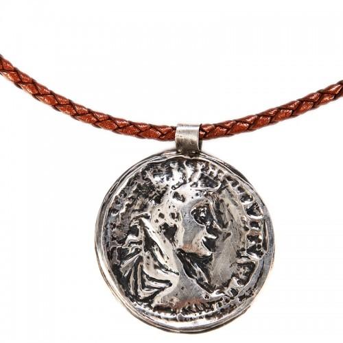İmparator Severus  Alexander Sikkesi Gümüş Kolye