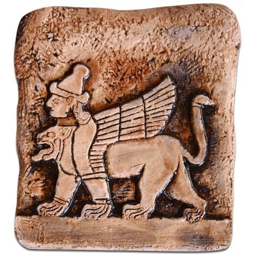 Hitit Sfenksi Seramik Tablet