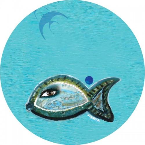 Özgür Balık Cam Tepsi - 1