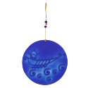 Kadırga Kobalt Mavi Cam Süsü