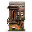 Minyatür Tarihi Osmanlı Evi - İstanbul Ihlamur Yokuşu