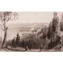 Pierre Loti'den Haliç Manzarası Gravür