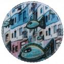 Özgür Balık Cam Tepsi - 2