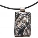 Gümüş Meryem Ana Kolye
