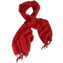 İpek Fular - Kırmızı