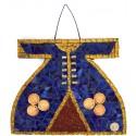 Mozaik Kaftan Lacivert