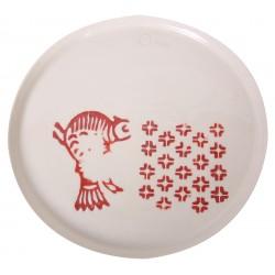 Kuş Motifli Porselen Tabak