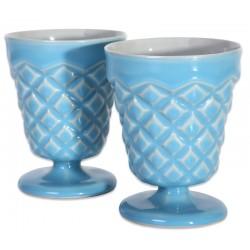 Mavi Porselen Bardak - Constantine