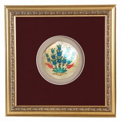 Sedef Üzerine Hayat Ağacı Minyatür