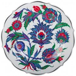 İznik Çini Tabak - 1545-50 Dönemi Replika