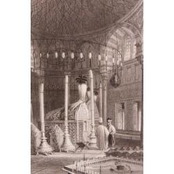 Kanuni Sultan Süleyman Türbesi Gravür