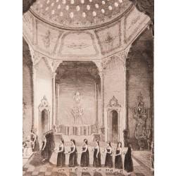 Sultan'ın Banyosu Gravür