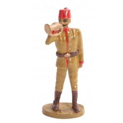 Osmanlı Piyadesi Borazancı Kurşun Asker Figürü