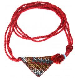 Muska Kolye - Kırmızı