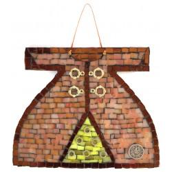 Mozaik Kaftan Kahverengi