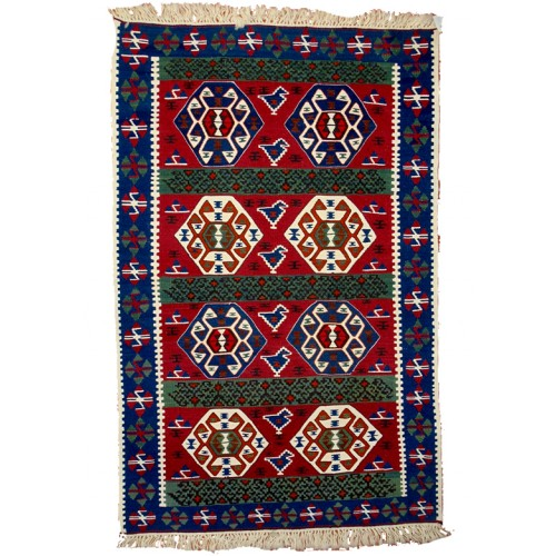 Unique Kilim - Weaved by Kudret Köklü