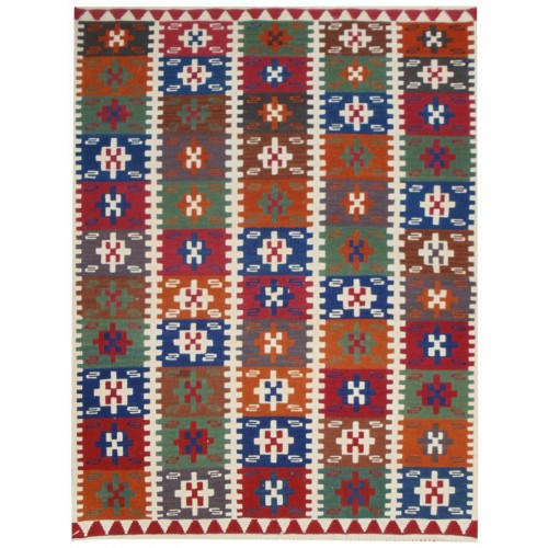 Gülgönen Replica Kilim - Weaved by Gülten Kabal