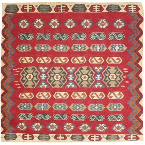 Kaşuri Kilim - Weaved by Fatma Tomay