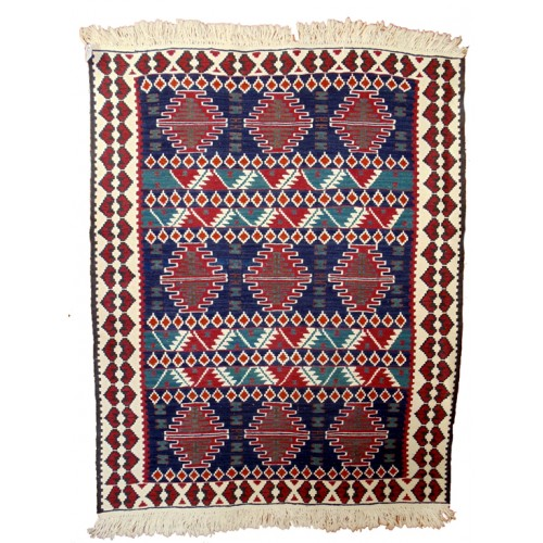 Nightingale's Nest Kilim - Weaved by Mizgin Dayan