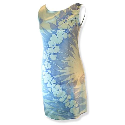 Marbling Blue Dress