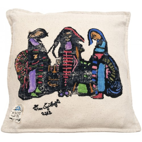 Eren Eyüboğlu Three Beauties Pillow Slip