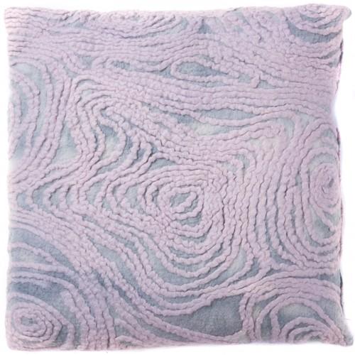 Grey Felt Pillow Case