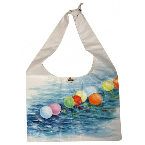 Oil on Canvas Balloons Tote Bag