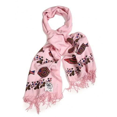 Bedri Rahmi Pink Pashmina shawl
