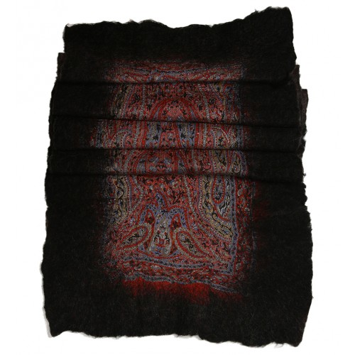 Felt Shawl - Black