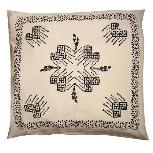 "Pillow Slip with ""Tokat Tassel"" Pattern"