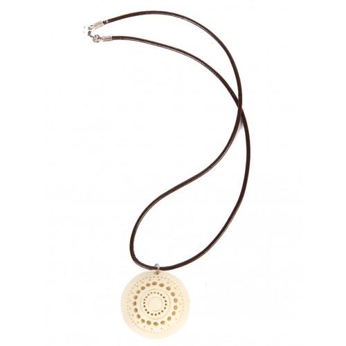 Meerschaum Necklace - Round