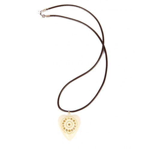 Meerschaum Necklace - Heart
