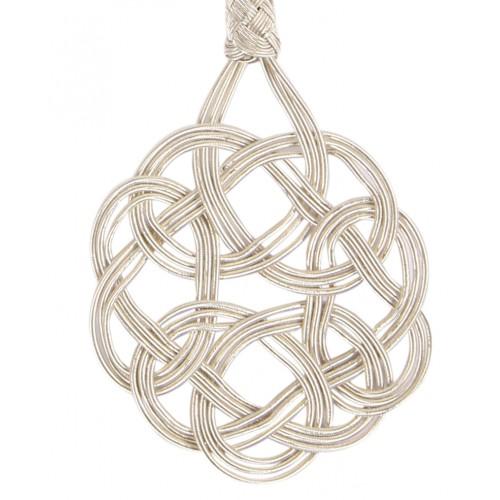 Kazaziye 'Şems' Silver Necklace