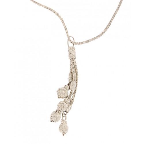 Kazaziye Silver Necklace