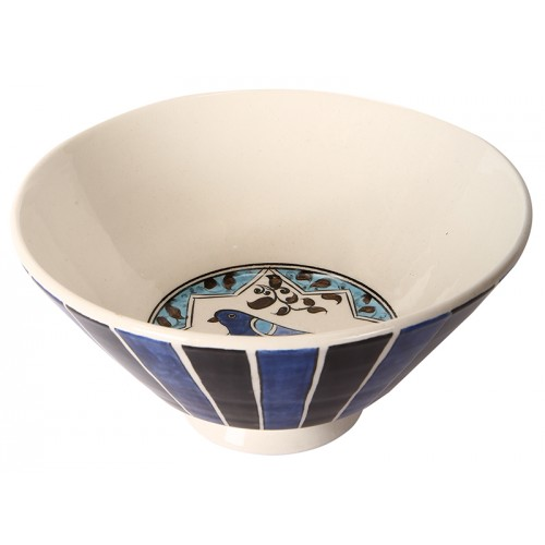 Seljuk Ceramic Bowl with Bird Pattern