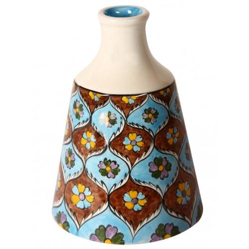 Kutahya Pattern Ceramic Bottle