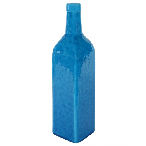 Turquoise Ceramic Bottle