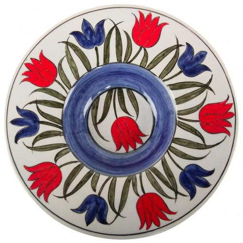 Tondino Iznik Ceramic Plate