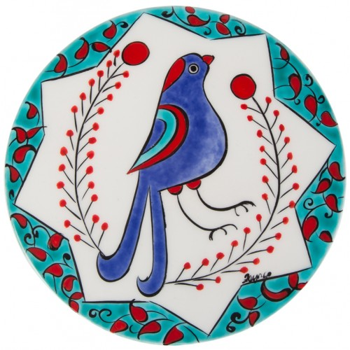 Ceramic Hot Pad - Seljuk Bird