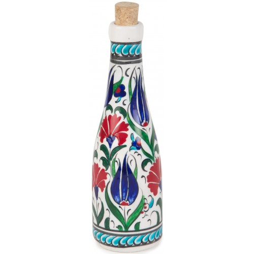 Tulip and Clove Patterned Bottle