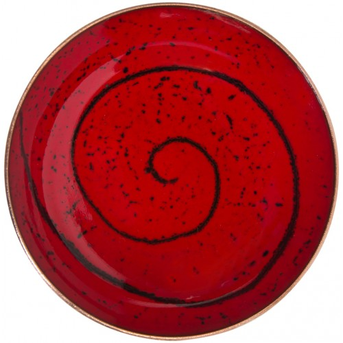 Red Enamel Pot