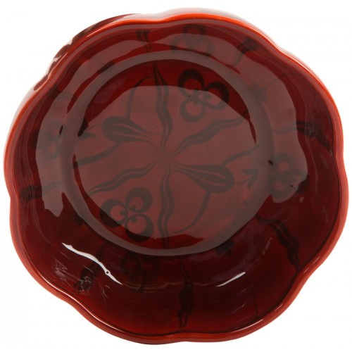 Red Ceramic Bektaşi Bowl